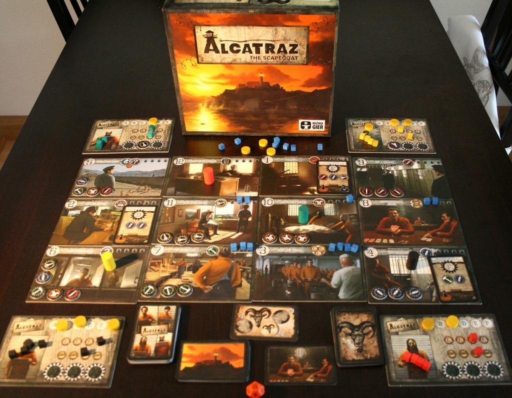Alcatraz Spiel Lösung