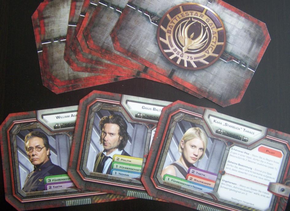 battlestar galactica charaktere
