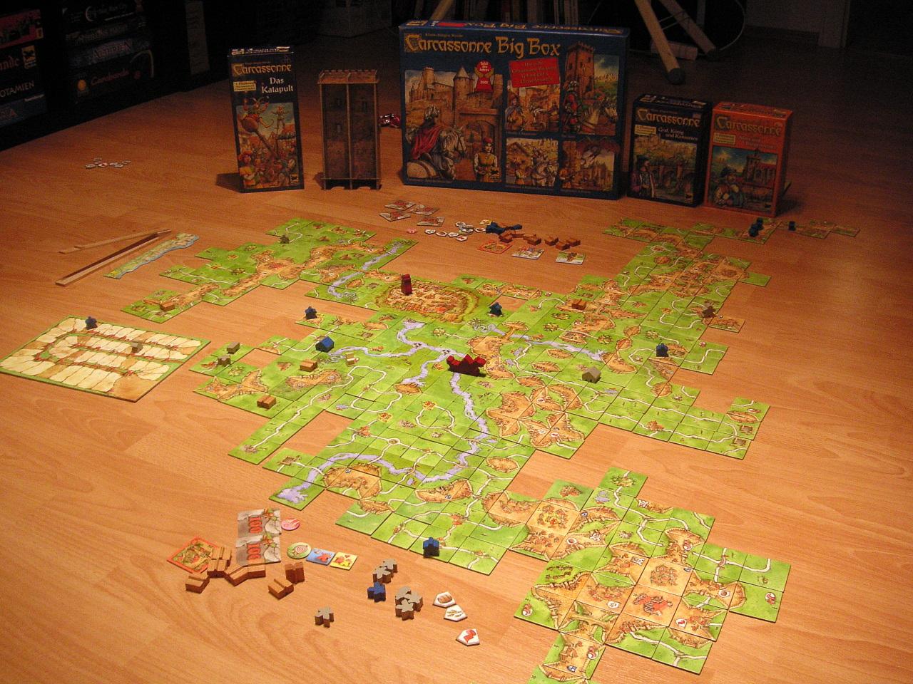 Carcassonne Brettspiel