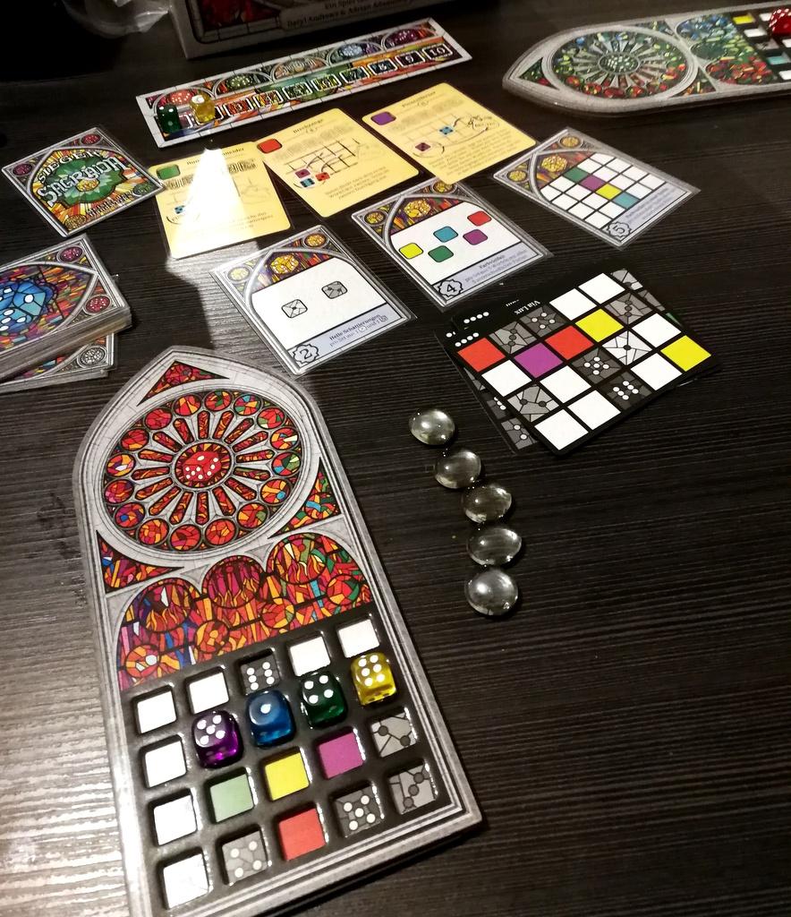 Sagrada Brettspiel