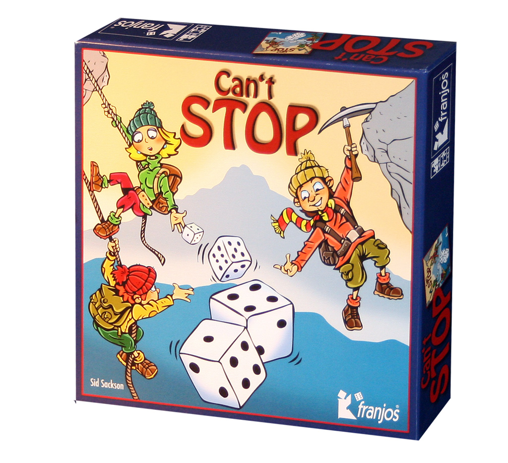 Cant Stop Spiel