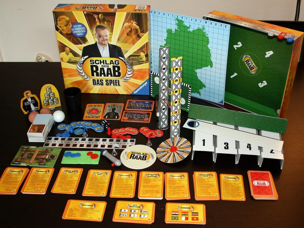 Schlag Den Raab Spiele Holz